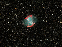 The Dumbbell Nebula - M27